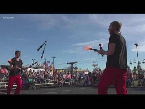 The Red Trouser Show at the South Carolina State Fair