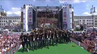 Fußball Weltmeister Feiern,Rückflug,Fanmeile In Berlin 2014 Teil 4v4