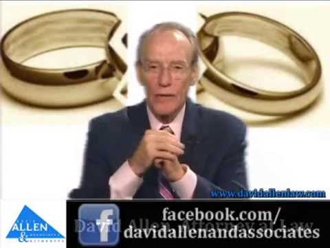 David Allen Legal Tuesday: Same Sex Divorce Can Be Difficult