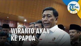 Wiranto akan Terbang Langsung ke Papua