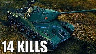 14 ФРАГОВ на китайском тт 110 World of Tanks