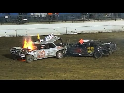 OC Crush Demolition Derby (with Fire!)