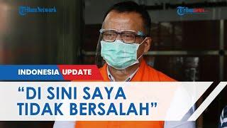 Didakwa Terima Suap Kasus Ekspor Benih Lobster Rp25,7 Miliar, Edhy Prabowo: Saya Tak Bersalah