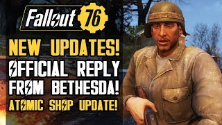 Fallout 76 - New Updates from Bethesda!  New Shop Items and Weekly Challenges!