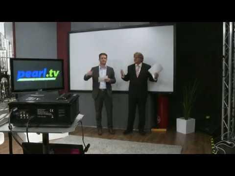 "SceneLights LED/LCD-Beamer WXGA ""LB-7020.HD"", HD-Auflösung"