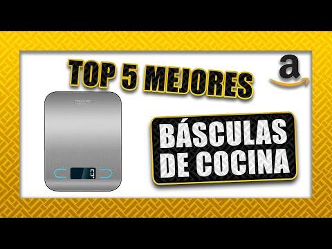 🧂 Top 5 ► BÁSCULAS de COCINA   Las mejores de Amazon en 2020 ⏲
