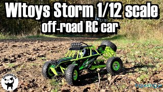 Wltoys Storm 1/12 off-road RC car. Trying out some LOS and FPV. Supplied by TomTop