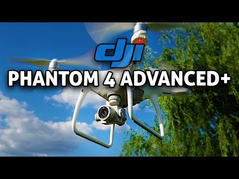 DJI Phantom 4 Advanced Plus w/ Built-In Display!! REVIEW (4K)