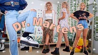 How To Style Dr. Martens | 12 Outfit Ideas With DOCS