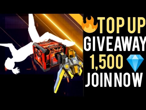 FREE FIRE LIVE GIVEAWAY 1500 DIAMONDS LIVE CUSTOM ROOM  JOIN NOW #FFLIVE