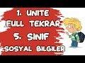 5. SINIF SOSYAL BİLGİLER - 1. ÜNİTE FULL TEKRAR - BİREY VE TOPLUM