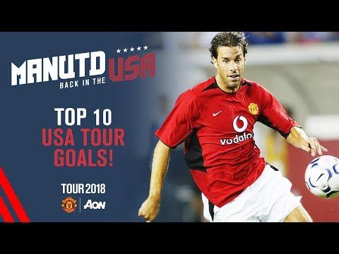 Manchester United's Top 10 USA Tour Goals | USA Tour 2018 Live on MUTV