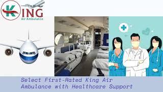 Pick King Air Ambulance in Jabalpur with All Medication Tools
