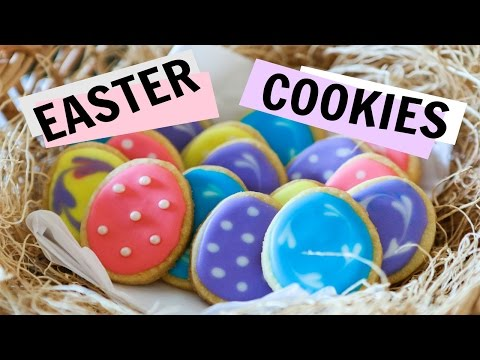 How to Make and Decorate Easter Egg Sugar Cookies