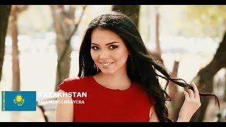 Aliya Mergembayeva Contestant from Kazakhstan for Miss World 2016 Introduction