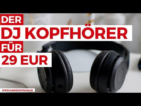 DJ Kopfhörer Test | OneOdio DJ Headphones | Günstiger Kopfhörer bis 50€