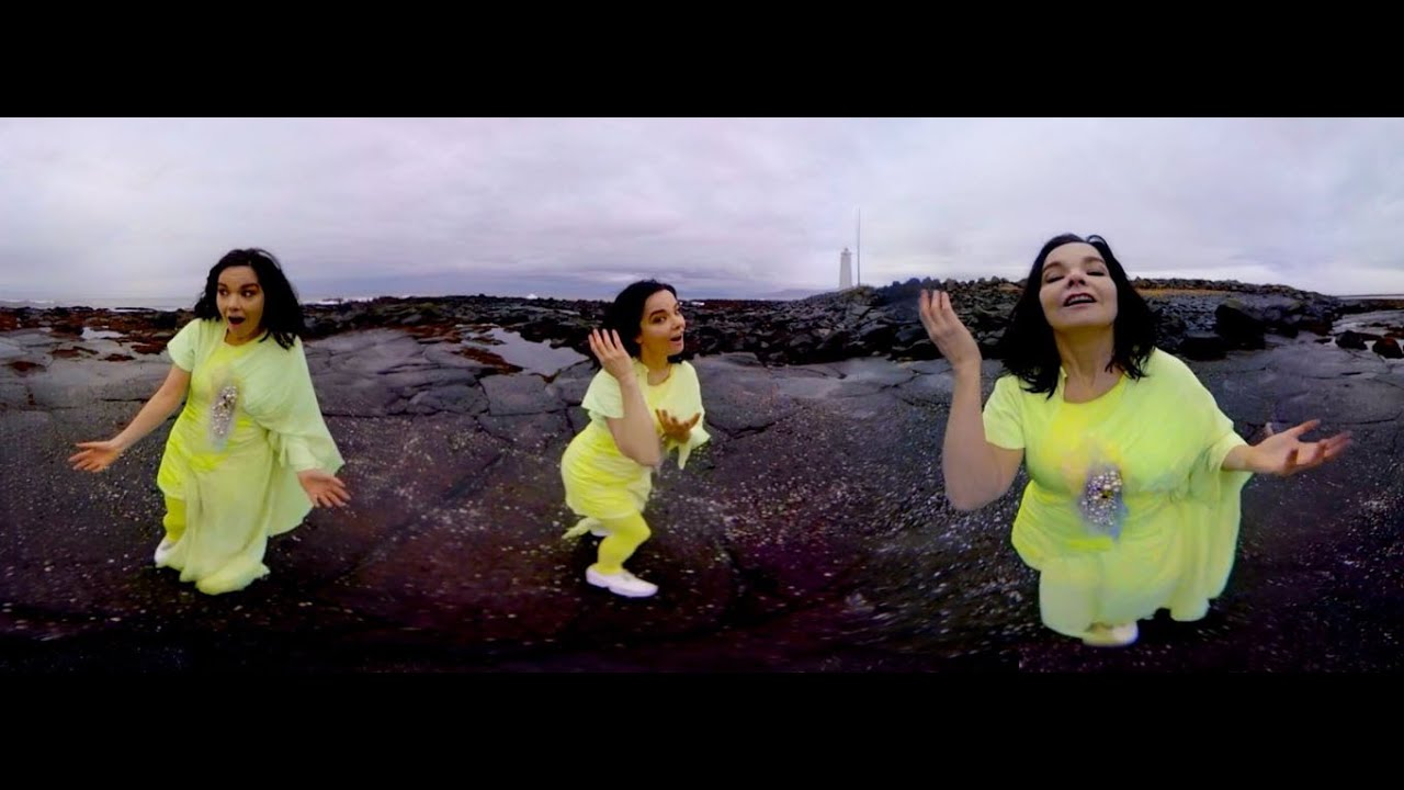 Bjork Is On-Board The VR Hype Train