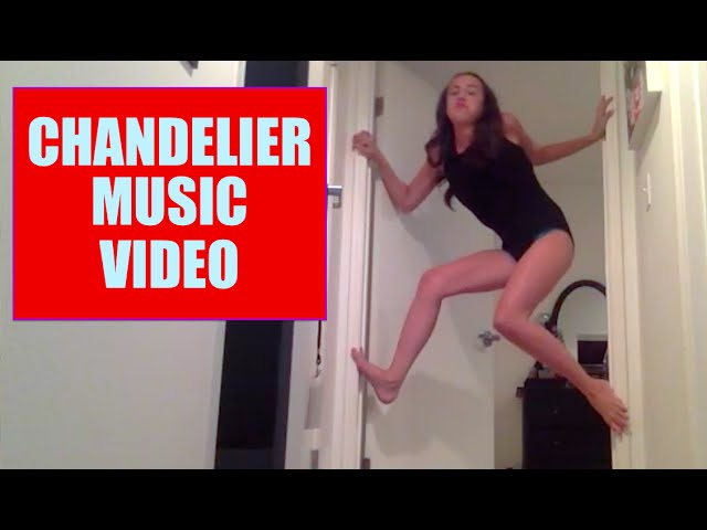 This hilarious girl recreated the music video for sias chandelier miranda sings worked super hard on replicating the exact choreography from sias chandelier and you can tell its basically a masterpiece mozeypictures Images