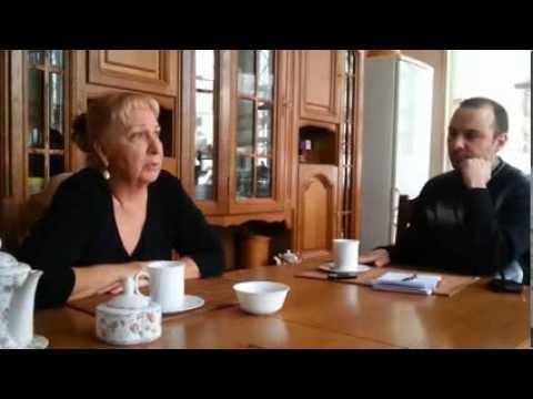 Людмила Юга о жизни и судьбе - интервью газете - YouTube