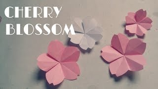 Origami Cherry Blossom - Origami Easy