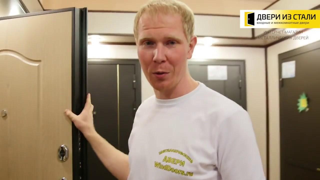 Видеообзор Дверь Voldoor Манхэттен 1 Беленный дуб