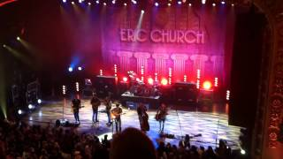Eric Chruch Livin Part of Life Live in Chattanooga (Encore)