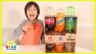 How to Make Coca Cola Soda Dispenser at Home out of Cardboard