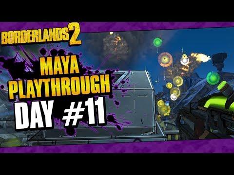 Borderlands 2 | Maya Reborn Playthrough Funny Moments And Drops | Day #11