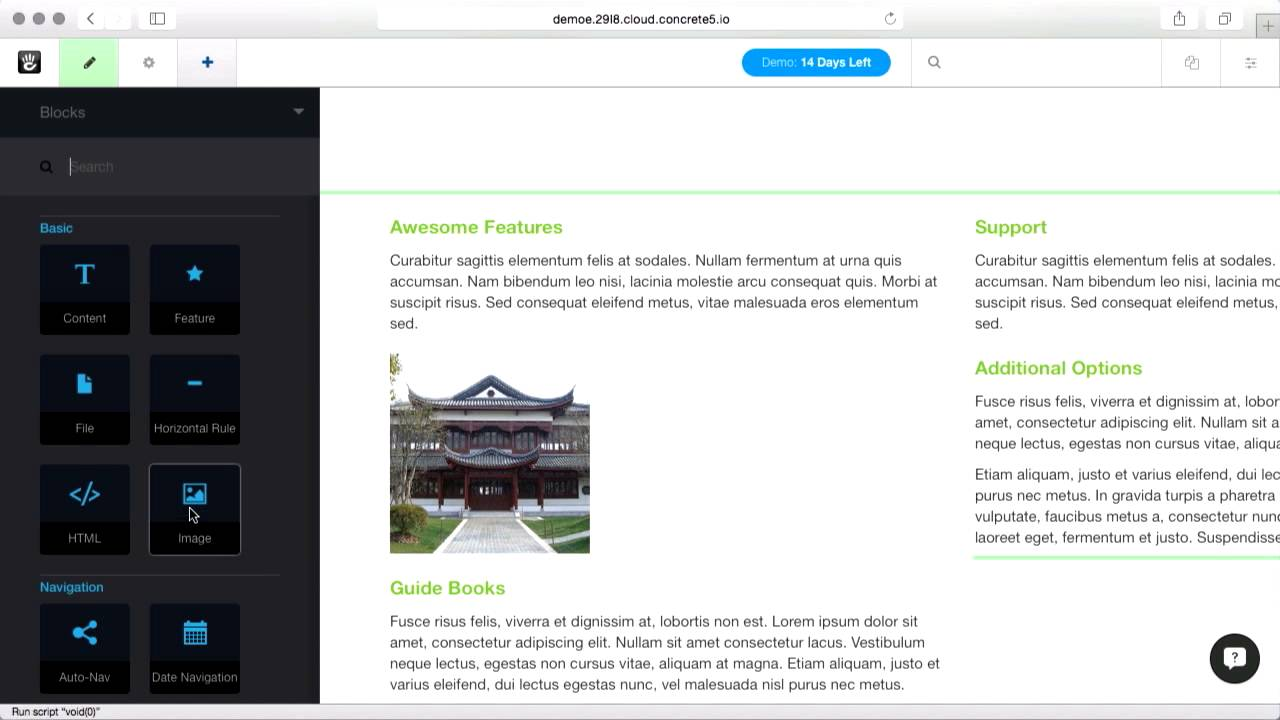 Changing meta information at the page and image level, along with the built in bulk SEO report.