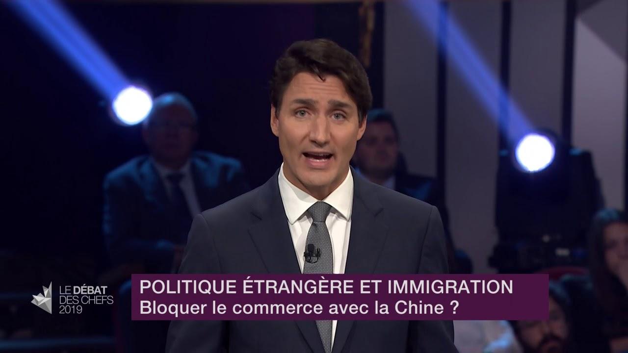 Justin Trudeau répond à la question sur les relations commerciales et diplomatiques avec la Chine