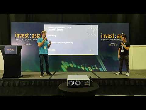 CoinGecko is live with Nick White in Changelog at Invest:Asia 2019