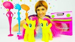 Литл пони пришли в Детский Садик. Видео для детей