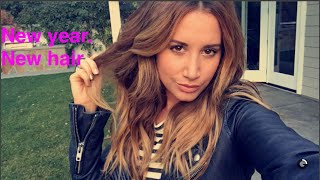 New Year, New Hair - Ashley Tisdale