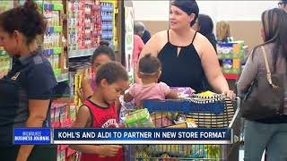 Kohl's teaming up with German grocer Aldi