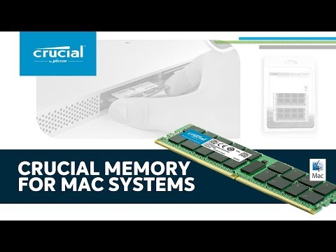 Crucial memory for Mac product tour