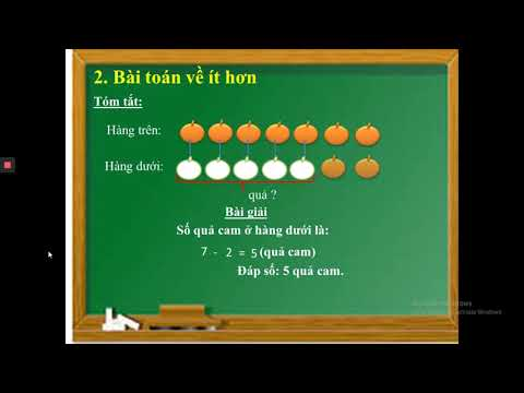 TOÁN LỚP 2 - GIẢI TOÁN CÓ LỜI VĂN (ÔN TẬP) - GV NGUYỄN THỊ THU HÒA - TH TRƯNG VƯƠNG