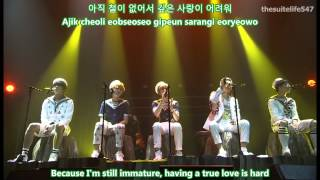 B1A4 - Only Learnt The Bad Things [Amazing Store in Seoul] {Hangul, Romanization, Eng Sub, Fanchant}