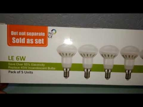 LE® 6W R50 E14 LED Lampen