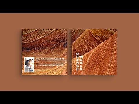 Ispirazione per la copertina del suo Fotolibro — 'Orange World'