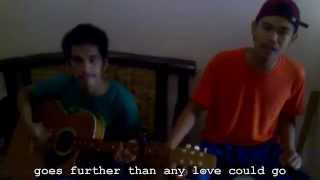 Matchless with Lyrics by Aaron Shust (Cover by Denver and Cyrell)