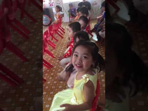 Tiết dạy âm nhạc - Giaó viên Nguyễn Thị Bích Ly - Lớp chồi B