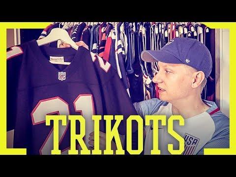 Meine Trikotsammlung 2018 (1/2) - NFL Trikots | Tomy Hawk TV