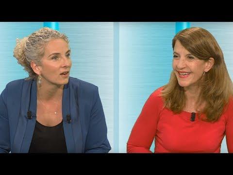 Françoise Sivignon et Delphine Batho