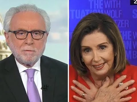 Pelosi LOSES IT On Wolf Blitzer's Basic Questions