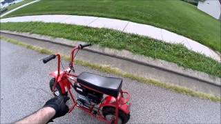 Predator 212cc Mini Bike
