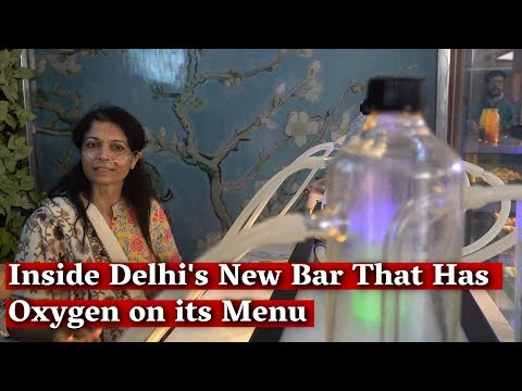 Inside the Bar That's Serving Oxygen to Delhiites as AQI turns severe