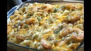 How To Make Lobster, Crab & Shrimp Baked Macaroni And Cheese Recipe