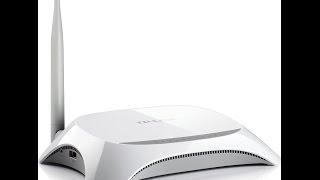 Hướng dẫn cài đặt TL-MR 3220 3G/4G Wireless