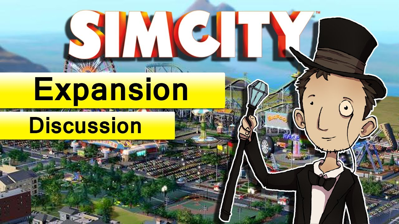 Sim City Officially Getting Theme Park DLC