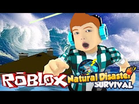 How To Survive Natural Disasters - Electroshark v God on Roblox Natural Disaster Survival